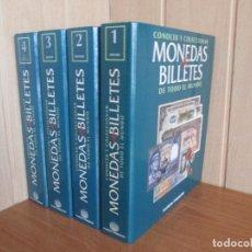 Libros de segunda mano: PLANETA AGOSTINI: 4 ARCHIVADORES COMO CONOCER Y COLECCIONAR MONEDAS Y BILLETES DE TODO EL MUNDO. Lote 195663577
