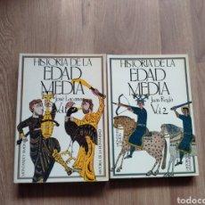 Libros de segunda mano: HISTORIA DE LA EDAD MEDIA. JOSÉ LACARRA Y JUAN REGLÁ. MONTANER Y SIMON.. Lote 145120994