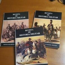 Libros de segunda mano: 3 TOMOS REVISTA DE HISTORIA MILITAR DE INSTITUTO DE HISTORIA Y CULTURA MILITAR. Lote 195894912