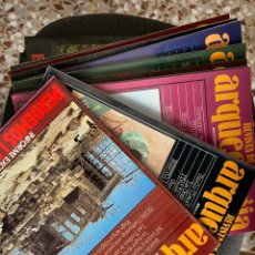 Libros de segunda mano: REVISTA DE ARQUEOLOGÍA (21 NÚMEROS). Lote 195943920