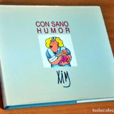 Libros de segunda mano: CON SANO HUMOR - DE XIM (PACO PERIAGO) - EDITA: FUNDACIÓN HEFAME - AÑO 1998. Lote 195950758