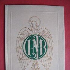 Libros de segunda mano: CAJA PREVISION DE LOS MERCADOS DE BARCELONA.-MEMORIA.-BARCELONA.-AÑO 1946.. Lote 195979497