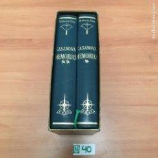 Libros de segunda mano: CASANOVA. MEMORIAS. EL ARCO DE EROS. EDAF 1962. 1ª ED. ILUSTR. DE SERNY.COMPLETA. Lote 196011287