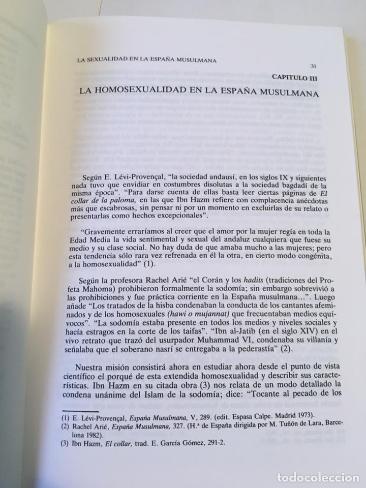 Libros de segunda mano: La sexualidad en la España musulmana 2 a edición Antonio Arjona - Foto 4 - 196027883