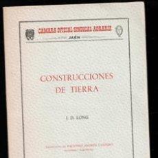 Livros em segunda mão: CONSTRUCCIONES DE TIERRA, J.D. LONG. Lote 196027950