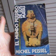 Libros de segunda mano: EL MUNDO PERDIDO DE LOS MAYAS 1973. Lote 196069263