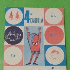 Libros de segunda mano: PALAU 4 CARTILLA - ANAYA 1970 TAMAÑO PEQUEÑO CUARTA. Lote 54100530