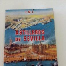 Libros de segunda mano: ASTILLEROS DE SEVILLA-EMPRESA NACIONAL ELCANO MARINA MERCANTE-EDITA INI-T DURA-SOBRECUBIERTA-ANTIGUO. Lote 196268095