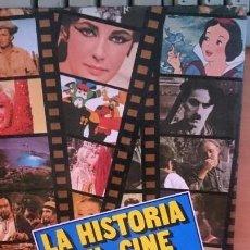 Libros de segunda mano: LA HISTORIA DEL CINE,ETAPAS MAS SIGNIFICATIVAS. Lote 196304891