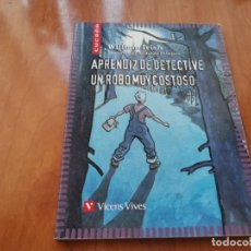 Libri di seconda mano: APRENDIZ DE DETECTIVE UN ROBO MUY COSTOSO WILLIAM IRISH VICENS VIVES 2007 RECOGIDA GRATIS MALLORCA . Lote 196354362