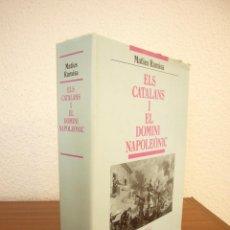 Libros de segunda mano: ELS CATALANS I EL DOMINI NAPOLEÒNIC (PAM, 1995) MATIES RAMISA. MOLT BON ESTAT.. Lote 196357846
