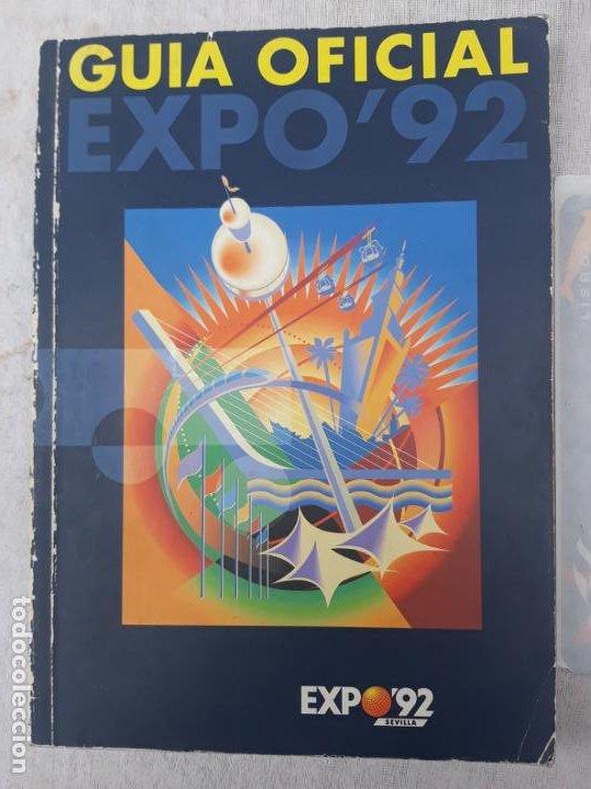 Libros de segunda mano: GUIA OFICIAL EXPO`92 - SEVILLA - Y PEGATINA EXPO 98 - LISBOA. - Foto 2 - 196489237