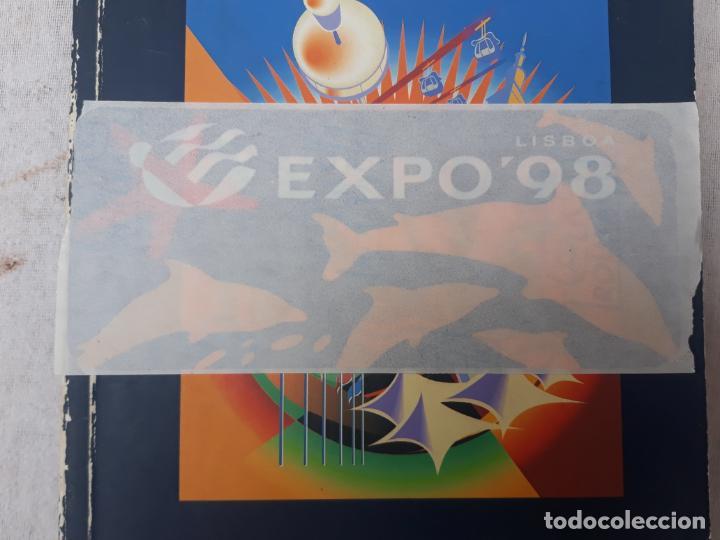 GUIA OFICIAL EXPO`92 - SEVILLA - Y PEGATINA EXPO 98 - LISBOA. (Libros de Segunda Mano - Bellas artes, ocio y coleccionismo - Otros)