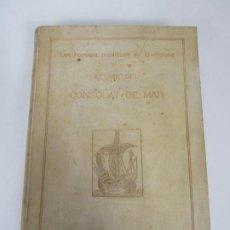 Libros de segunda mano: LLIBRE DEL CONSOLAT DE MAR - ERNEST MOLINÉ BRASÉS - EXEMPLAR Nº 377 - AÑO 1914. Lote 196506346