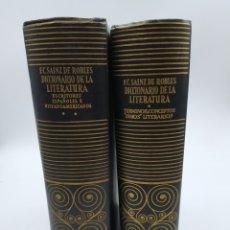 Libros de segunda mano: ENSAYO DE DICCIONARIO DE LA LITERATURA I Y II. AGUILAR. Lote 196635523