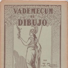 Libros de segunda mano: VADEMECUM DE DIBUJO – ZOOGRAFIA II – J.CAMINS – EDITORIAL M.A.SALVATELLA – 16 LÁMINAS. Lote 196758346