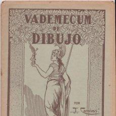 Libros de segunda mano: VADEMECUM DE DIBUJO – ZOOGRAFIA III – J.CAMINS – EDITORIAL M.A.SALVATELLA – 15 LÁMINAS. Lote 196758663