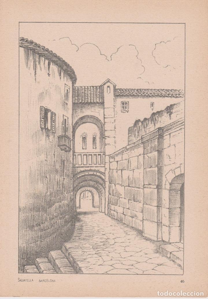 Libros de segunda mano: VADEMECUM DE DIBUJO – PAISAJE III – J.CAMINS – EDITORIAL M.A.SALVATELLA – 16 LÁMINAS - Foto 3 - 196759358