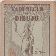 Libros de segunda mano: VADEMECUM DE DIBUJO – PAISAJE III – J.CAMINS – EDITORIAL M.A.SALVATELLA – 16 LÁMINAS. Lote 196759358