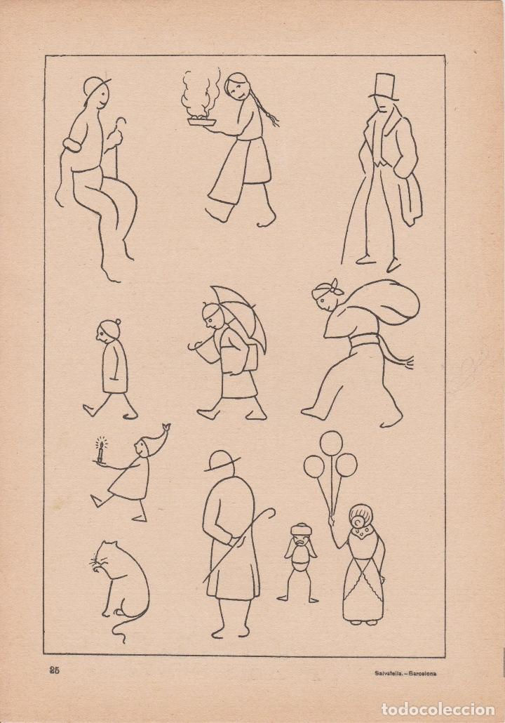 Libros de segunda mano: VADEMECUM DE DIBUJO – DIBUJOS INFANTILES II – J.CAMINS – EDITORIAL M.A.SALVATELLA – 16 LÁMINAS - Foto 2 - 196759958