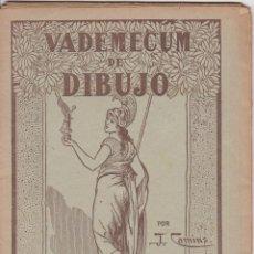 Libros de segunda mano: VADEMECUM DE DIBUJO – DIBUJOS INFANTILES II – J.CAMINS – EDITORIAL M.A.SALVATELLA – 16 LÁMINAS. Lote 196759958