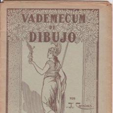 Libros de segunda mano: VADEMECUM DE DIBUJO – DIBUJOS INFANTILES I – J.CAMINS – EDITORIAL M.A.SALVATELLA – 15 LÁMINAS. Lote 196760271