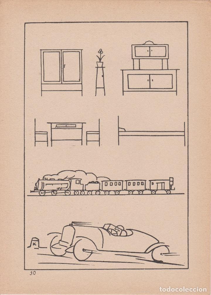 Libros de segunda mano: VADEMECUM DE DIBUJO – DIBUJOS INFANTILES I – J.CAMINS – EDITORIAL M.A.SALVATELLA – 15 LÁMINAS - Foto 3 - 196760271
