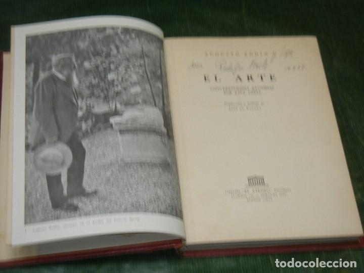AUGUSTO RODIN. EL ARTE. CONVERSACIONES REUNIDAS POR PAUL GSELL - EL ATENEO, BS.AS. 1955 (Libros de Segunda Mano - Bellas artes, ocio y coleccionismo - Otros)