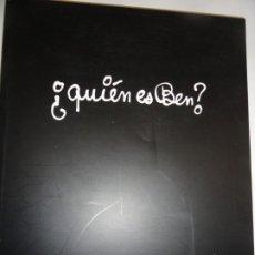 Libros de segunda mano: ¿QUIEN ES BEN? - BEN VAUTIER - MUSEO VOSTELL MALPARTIDA 2008. Lote 196950223