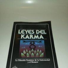 Libros de segunda mano: DR. DOUGLAS BAKER - LEYES DEL KARMA. Lote 197062182