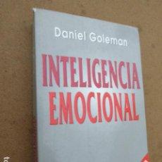 Libros de segunda mano: INTELIGENCIA EMOCIONAL. DANIEL GOLEMAN. KAIRÓS, 2000. 495 PP. Lote 243836700