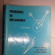 Livres d'occasion: PROBLEMAS DE MECANISMOS 1968 ANTONIO DEL CORRAL SAIZ Y OTROS ESCUELA TÉCNICA SUPERIOR INGENIEROS IND. Lote 197170095