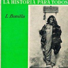 Libros de segunda mano: BONILLA, LUIS - HISTORIA DE LA ESCLAVITUD. Lote 197365283