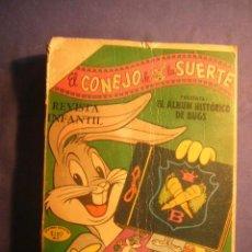 Libros de segunda mano: EL CONEJO DE LA SUERTE. ALBUM HISTORICO DE BUGS. (MEXICO, 1969) (CONTIENE 15 NUMEROS). Lote 197392292