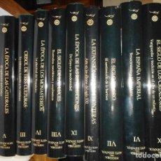 Libros de segunda mano: VV.AA HISTORIA DEL ARTE ESPAÑOL (11 TOMOS) Y99357W . Lote 197420352