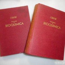 Libros de segunda mano: VICENTE VILLAR PALASI, ÁNGEL SANTOS RUIZ TRATADO DE BIOQUÍMICA (2 TOMOS) Y99380W. Lote 197451562