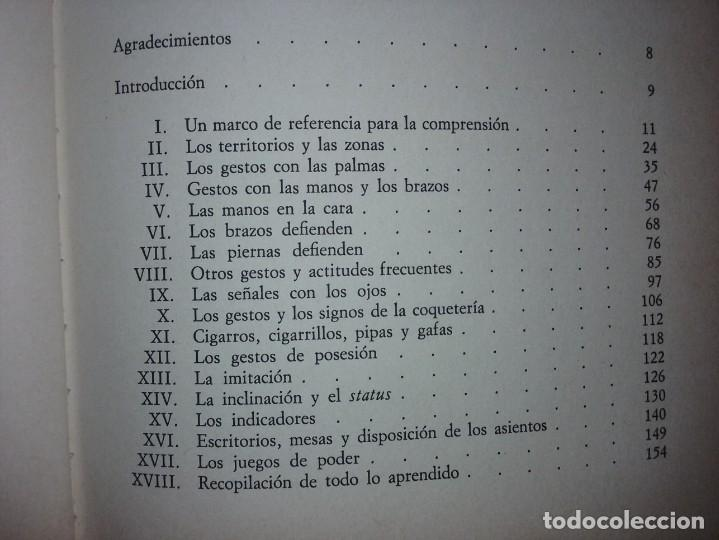 Libros de segunda mano: EL LENGUAJE DEL CUERPO - ALLAN PEASE (EDITORIAL CÍRCULO DE LECTORES) - Foto 4 - 197473582