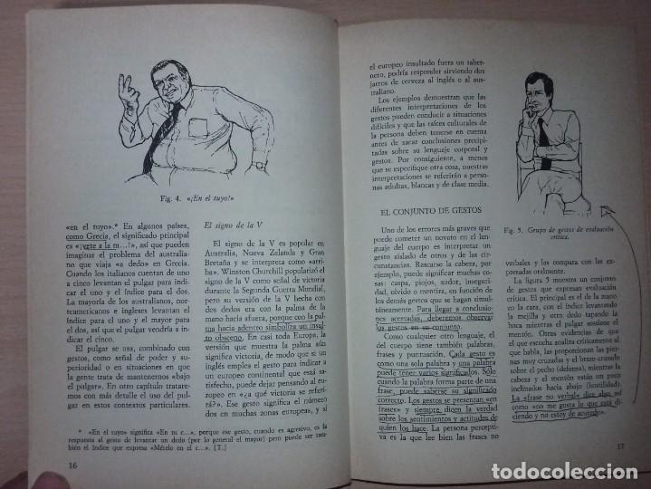 Libros de segunda mano: EL LENGUAJE DEL CUERPO - ALLAN PEASE (EDITORIAL CÍRCULO DE LECTORES) - Foto 7 - 197473582