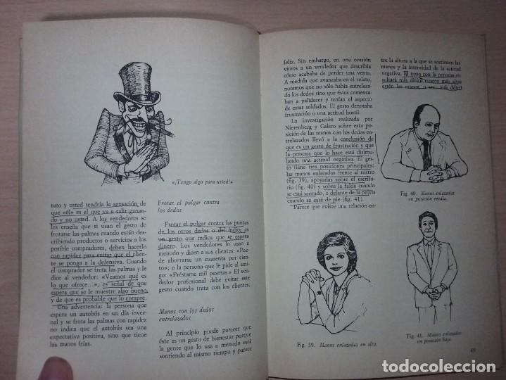 Libros de segunda mano: EL LENGUAJE DEL CUERPO - ALLAN PEASE (EDITORIAL CÍRCULO DE LECTORES) - Foto 10 - 197473582
