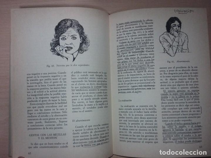 Libros de segunda mano: EL LENGUAJE DEL CUERPO - ALLAN PEASE (EDITORIAL CÍRCULO DE LECTORES) - Foto 11 - 197473582