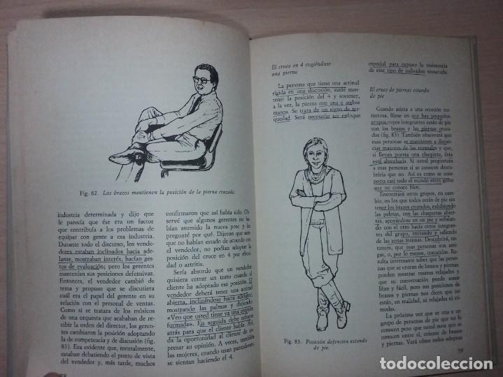 Libros de segunda mano: EL LENGUAJE DEL CUERPO - ALLAN PEASE (EDITORIAL CÍRCULO DE LECTORES) - Foto 12 - 197473582