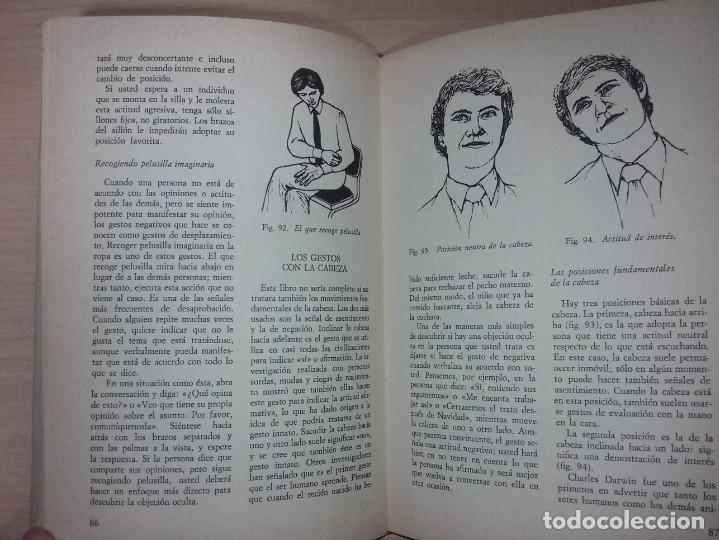 Libros de segunda mano: EL LENGUAJE DEL CUERPO - ALLAN PEASE (EDITORIAL CÍRCULO DE LECTORES) - Foto 15 - 197473582