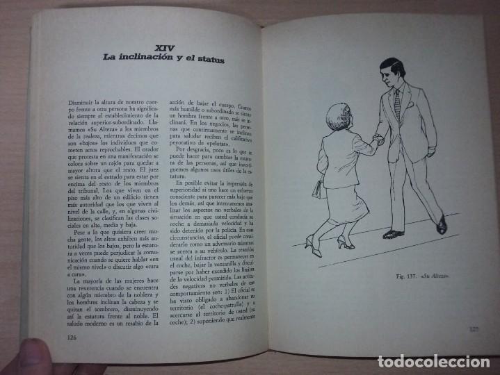 Libros de segunda mano: EL LENGUAJE DEL CUERPO - ALLAN PEASE (EDITORIAL CÍRCULO DE LECTORES) - Foto 16 - 197473582