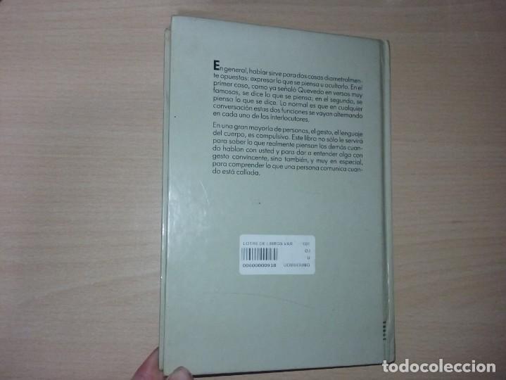 Libros de segunda mano: EL LENGUAJE DEL CUERPO - ALLAN PEASE (EDITORIAL CÍRCULO DE LECTORES) - Foto 17 - 197473582