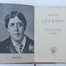 Libros de segunda mano: C U E N T O S - COLECCION CRISOL NUM. 16 - OSCAR WILDE - EDIC.1966. Lote 197519898