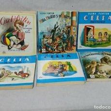 Libros de segunda mano: LOTE DE 6 LIBROS DE ELENA FORTUN, CELIA Y MAS. Lote 197670917