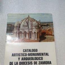 Libros de segunda mano: CATÁLOGO ARTÍSTICO Y MONUMENTAL Y ARQUEOLÓGICO DE LA DIÓCESIS DE. DAVID DE LAS HERAS HERNÁNDEZ 1973. Lote 197677616