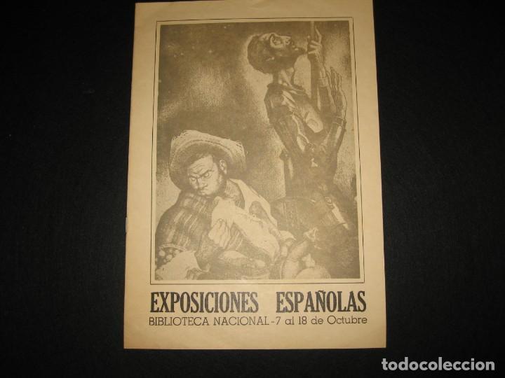 CATALOGO DE LAS EXPOSICIONES ESPAÑOLAS 1968 (Libros de Segunda Mano - Bellas artes, ocio y coleccionismo - Otros)