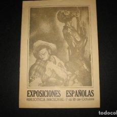 Libros de segunda mano: CATALOGO DE LAS EXPOSICIONES ESPAÑOLAS 1968. Lote 197801825