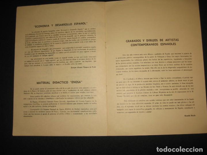 Libros de segunda mano: CATALOGO DE LAS EXPOSICIONES ESPAÑOLAS 1968 - Foto 3 - 197801825